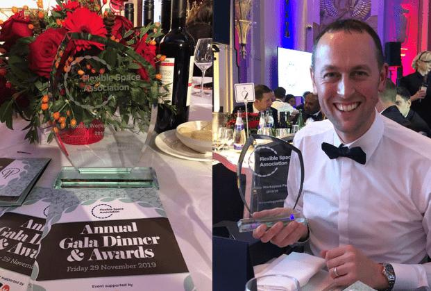 Jon Seal Managing Director Technologywithin Holding FlexSA UK Award Partner of the Year 2019