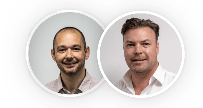 richard morris and chris male | technologywithin team | MIPIM 2020